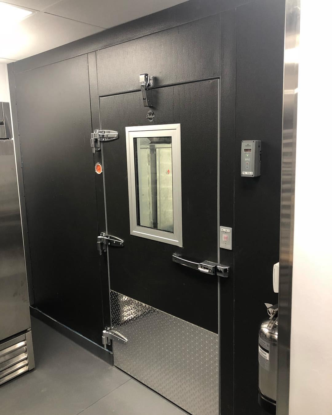 walk in cooler installed in San Francisco Restaurant